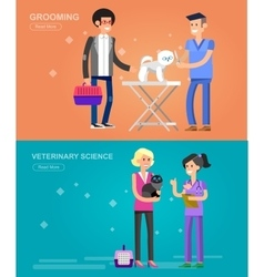 High quality character design veterinarian vector