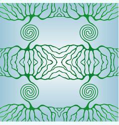 life tree pattern vector image