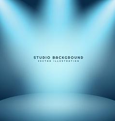 light studio background vector image