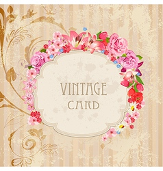 Vintage label for your design vector