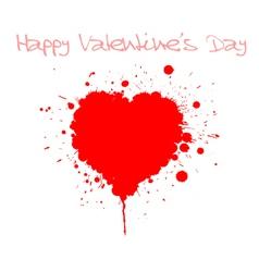 grunge valentines day vector image