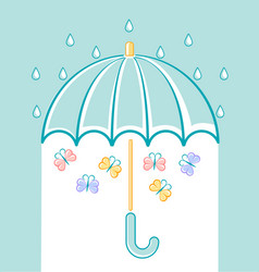 an umbrella vector image vector image
