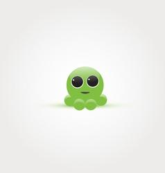 Baby octopus vector