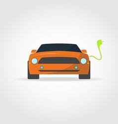 Electro car vector