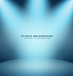 light studio background vector image vector image
