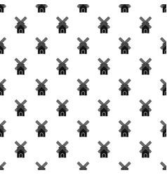 Mill pattern vector