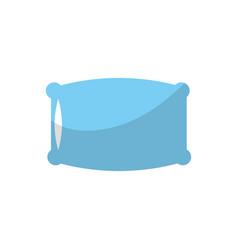 nice soft pillow to comfortable sleep vector image