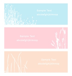 turf and flower vector image