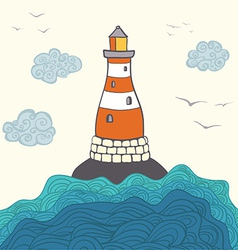 Shiplighthouse5 vector