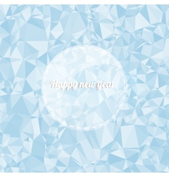 Background with triangles with a place for you vector image