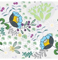 cute seamless wallpaper vector image
