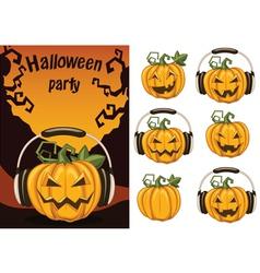 halloweenparty3 vector image