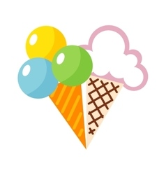 Icecream icon vector image