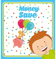 saving children vector image