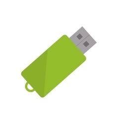USB storage device vector image