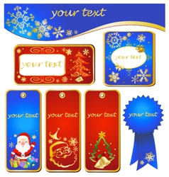 Christmas sales vector image