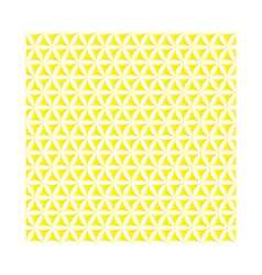 Yellow flower of life sacred geometric background vector