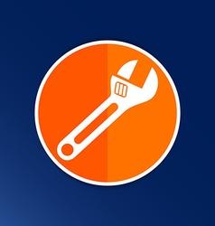 Spanner icon button logo symbol concept vector