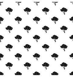 Apple tree pattern simple style vector