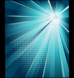 the modern poster is shining vector image