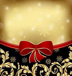 Christmas holiday ornamental decoration for design vector