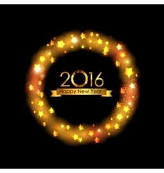 New year 2016 background vector