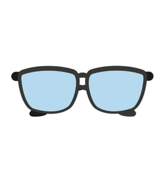 Glasses isolated icon design vector