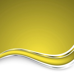 Beautiful yellow background vector image