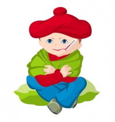 cartoon child vector image vector image