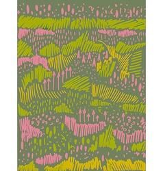 Creative artistic backgroundethnic texture vector