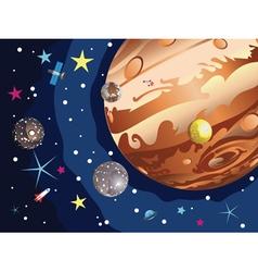Jupiter planet2 vector