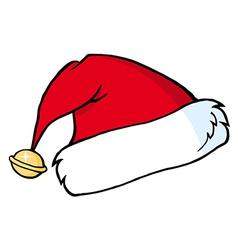 Santas hat vector