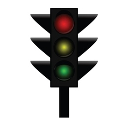 Traffic lights 3 vector