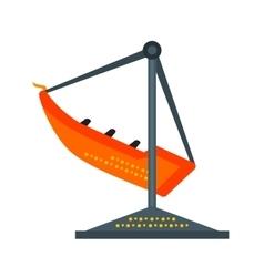 Boat swing vector