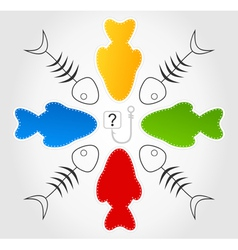 Question of fishes vector