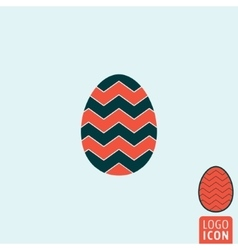 Egg icon isolated vector