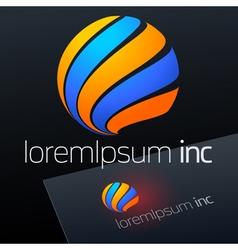 Logotype Fashion Cosmetics vector image vector image