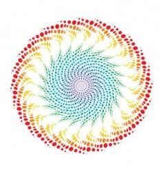 rainbow wave vector image vector image