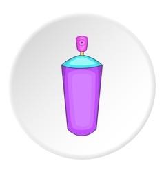 Shaving foam icon cartoon style vector