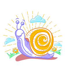 A snail vector