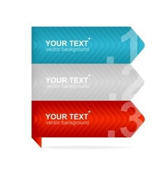 Arrow speech templates for text vector
