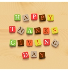 Thanksgiving day background vector