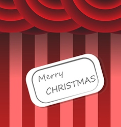 Christmas background circus style vector