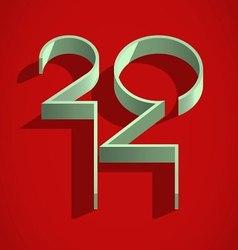 Happy 2014 year vector