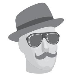 Mannequin head vector image vector image