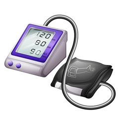 Blood pressure monitor kit vector image vector image