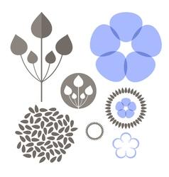 Flax set vector