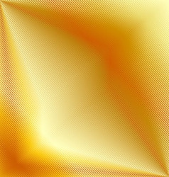 Golden metal background vector image