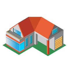 House mansion vector