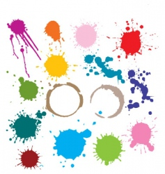 spots vector image vector image